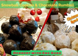 yt 56464 Snowball Cookies Chocolate Rumball Christmas Special Party Dessert Cook Bake n Enjoy 322x230 - Snowball Cookies || Chocolate Rumball || Christmas Special || Party Dessert || Cook Bake n Enjoy