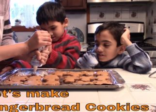 yt 56757 Gingerbread Cookies Recipe Kids Making Yummy Gingerbread Cookies ZJfun 322x230 - Gingerbread Cookies Recipe | Kids Making Yummy Gingerbread Cookies | ZJfun