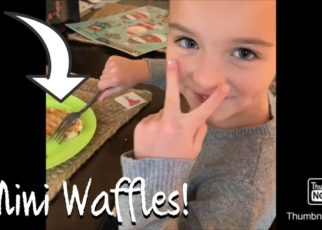 yt 56874 Clean and make mini waffles vlog 322x230 - Clean and make mini waffles vlog!