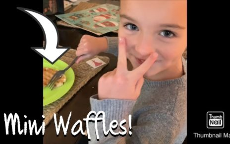 yt 56874 Clean and make mini waffles vlog 464x290 - Clean and make mini waffles vlog!
