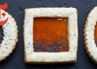yt 56942 Blood Orange Poppy Seed Window Cookies NYT Cooking 322x230 - Blood Orange Poppy Seed Window Cookies | NYT Cooking
