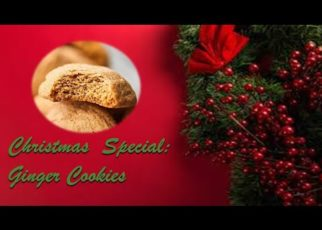 yt 56970 Christmas Special How to make delicious Crispy Ginger Cookies 322x230 - Christmas Special: How to make delicious Crispy Ginger Cookies
