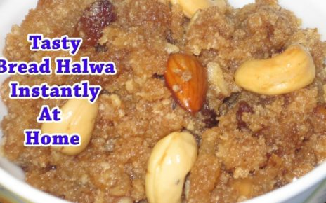 yt 57070 Tasty Bread Halwa Recipe in Tamil How to make Bread Halwa Cinderalas choice 464x290 - Tasty Bread Halwa Recipe in Tamil | How to make Bread Halwa | Cinderalas choice