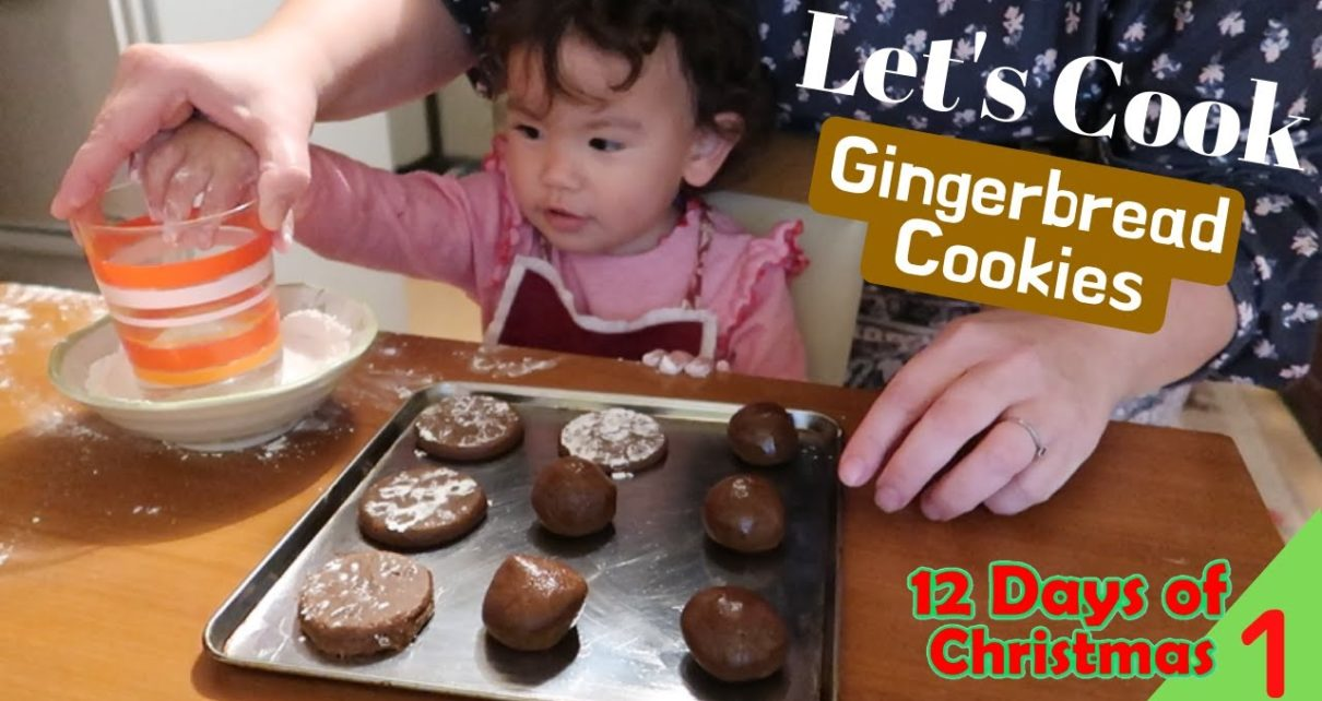 yt 57219 VLOGMAS 12 Days of Christmas DAY 1 Lets Cook Gingerbread Cookies 1210x642 - VLOGMAS // 12 Days of Christmas DAY 1 - Let's Cook: Gingerbread Cookies