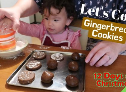 yt 57219 VLOGMAS 12 Days of Christmas DAY 1 Lets Cook Gingerbread Cookies 420x307 - VLOGMAS // 12 Days of Christmas DAY 1 - Let's Cook: Gingerbread Cookies