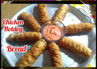 yt 57294 Chicken HOTDOG BREAD ROLLHOTDOG BREADHOW TO MAKE HOTDOG BREAD ROLLEASY SNACKS RECIPES 322x230 - Chicken HOTDOG BREAD ROLL|HOTDOG BREAD|HOW TO MAKE HOTDOG BREAD ROLL|EASY SNACKS RECIPES