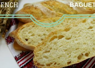 yt 57575 How to make French Baguettes at home step by step instructions Bread Recipe 322x230 - How to make French Baguettes at home step by step instructions ☆ Bread Recipe