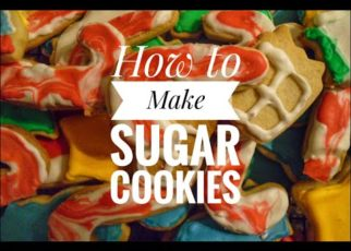 yt 57791 How to Make 185 Sugar Cookies 322x230 - How to Make (185) Sugar Cookies
