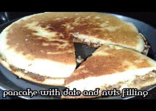yt 57859 pan cake.Dates nuts filling pancake recipe. how to make pancake 322x230 - pan cake.Dates nuts filling pancake recipe. how to make pancake.