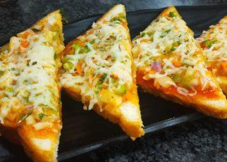 yt 57985 5 Bread Pizza on Tawa Quick and Easy Bread Pizza 322x230 - 5-मिनट मैं तवा ब्रेड पिज्जा | Bread Pizza on Tawa | Quick and Easy Bread Pizza