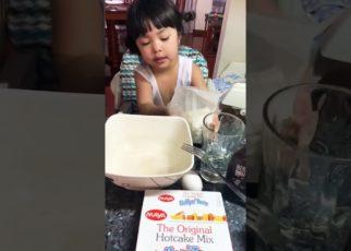 yt 58134 How to make pancake Hillary  322x230 - How to make pancake! - Hillary ❤️