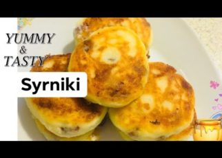 yt 58157 Syrniki Russian Quark Cottage Cheese Pancakes Recipe 322x230 - Syrniki Сырники | Russian Quark (Cottage Cheese) Pancakes Recipe