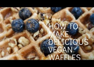 yt 58614 HOW TO MAKE DELICIOUS VEGAN WAFFLES 322x230 - HOW TO MAKE DELICIOUS #VEGAN WAFFLES