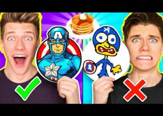 yt 59263 PANCAKE ART CHALLENGE Hero Edition Learn How To Make Avengers vs Star Wars Disney Plus Art 322x230 - PANCAKE ART CHALLENGE Hero Edition & Learn How To Make Avengers vs Star Wars Disney Plus Art