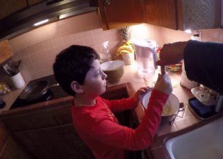 yt 59268 Monterey morning Day 1 making pancakes 322x230 - Monterey morning Day 1 making pancakes