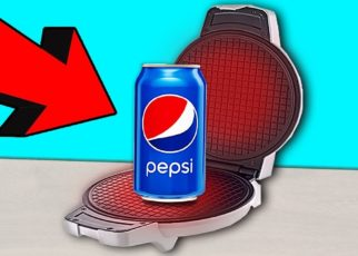 yt 59334 What If Prepare Waffles From PEPSI Waffle maker CHALLENGE 322x230 - What If Prepare Waffles From PEPSI? Waffle maker CHALLENGE