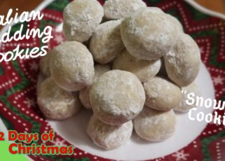 yt 59773 VLOGMAS 12 Days of Christmas DAY 8 Lets Cook Italian Wedding Cookies Snowball Cookies 322x230 - VLOGMAS// 12 Days of Christmas DAY 8: Let's Cook Italian Wedding Cookies | Snowball Cookies