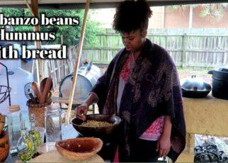 yt 59791 Garbanzo bean hummus with bread 322x230 - Garbanzo bean hummus with bread