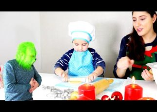 yt 60222 Bake Cookies with Leon and Reseived a Visit From Grinch 322x230 - Bake Cookies with Leon and Reseived a Visit From Grinch