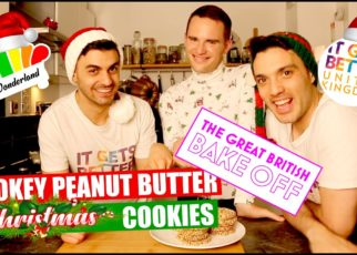 yt 60226 Smokey Peanut Butter Christmas Cookies Bake Off WinnerDavid Atherton In Wonderland Arif Ricky 322x230 - Smokey Peanut Butter Christmas Cookies/ Bake Off Winner/David Atherton/ In Wonderland/ Arif & Ricky