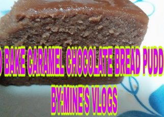 yt 60269 NO BAKE CARAMEL CHOCOLATE BREAD PUDDING 2019 MINES VLOGS 322x230 - NO BAKE CARAMEL CHOCOLATE BREAD PUDDING  2019 |MINE'S VLOGS