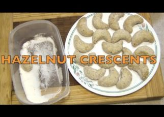 yt 60510 How to Make Hazelnut Crescent cookies Christmas Holiday Baking Cheekyricho Cooking recipe.ep .1309 322x230 - How to Make Hazelnut Crescent  cookies, Christmas Holiday Baking Cheekyricho Cooking recipe.ep.1,309