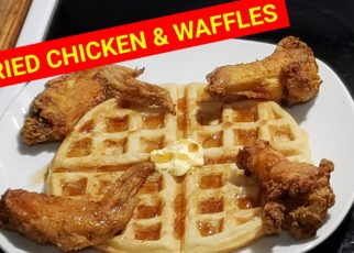 """yt 60982 AIR FRIED CHICKEN AND WAFFLES.....COOKING WITH GOLDMOUTH 322x230 - AIR """"""""FRIED CHICKEN"""""""" AND WAFFLES!!!😋😜🤤.....COOKING WITH GOLDMOUTH"""