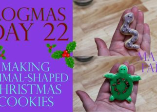 yt 61262 Vlogmas Day 22 MAKING ANIMAL SHAPED CHRISTMAS COOKIES 322x230 - Vlogmas Day 22   MAKING ANIMAL-SHAPED CHRISTMAS COOKIES