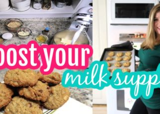 yt 61517 INCREASE YOUR MILK SUPPLY FAST Lactation Cookie Recipe Cook With Me 322x230 - INCREASE YOUR MILK SUPPLY FAST | Lactation Cookie Recipe | Cook With Me