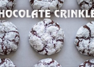 yt 62293 How to Make Fudgy Chocolate Crinkles Easy Chocolate Crinkle Cookies Recipe 322x230 - How to Make Fudgy Chocolate Crinkles | Easy Chocolate Crinkle Cookies Recipe