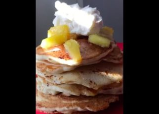 yt 62490 PINEAPPLE UPSIDE DOWN PANCAKES Cooking w A.N.A 322x230 - PINEAPPLE UPSIDE DOWN PANCAKES🍍🥞 | Cooking w/ A.N.A