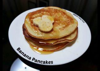 yt 62494 Banana Pancakes Recipe Fluffy Banana Egg Pancakes Easy Pancakes Recipe for Breakfast with Eggs 322x230 - Banana Pancakes Recipe || Fluffy Banana Egg Pancakes || Easy Pancakes Recipe for Breakfast with Eggs