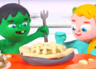 yt 62510 FUNNY KIDS BAKE AN AMERICAN PIE Play Doh Cartoons For Kids 322x230 - FUNNY KIDS BAKE AN AMERICAN PIE ❤ Play Doh Cartoons For Kids