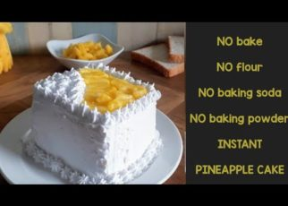 yt 62653 NO BAKE pineapple cake instant pineapple cake using bread slices 322x230 - NO BAKE pineapple cake | instant pineapple cake using bread slices|