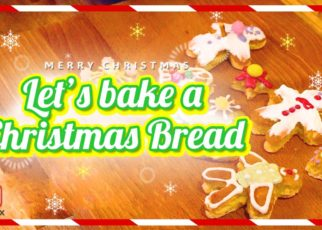 yt 62699 Lets bake a Christmas bread 322x230 - Let's bake a Christmas bread!!