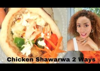 yt 62901 Homemade Chicken Shawarma 2 ways How to make Flat Bread 322x230 - Homemade Chicken Shawarma 2 ways | How to make Flat Bread