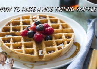 yt 64975 How To Make Nice Tasting Waffles wFleby 322x230 - How To Make Nice Tasting Waffles w/Fleby