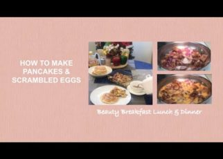 yt 66428 How to make fluffy pancakes with scrambled eggs Almond flavor pancakes with scrambled eggs 322x230 - How to make fluffy pancakes with scrambled eggs / Almond flavor pancakes with scrambled eggs