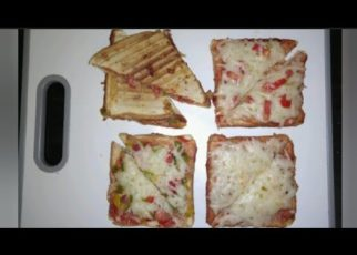 yt 67597 HOW TO MAKE BREAD PIZZA Bread easy recipes Simple snacks 322x230 - HOW TO MAKE BREAD PIZZA | Bread easy recipes |Simple snacks