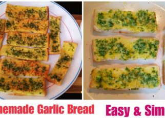 yt 69577 Homemade Garlic Bread Easy Simple l How to make garlic bread at Home 322x230 - Homemade Garlic Bread Easy &  Simple l How to make garlic bread at Home