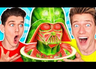 yt 70769 FOOD ART CHALLENGE 3 How To Make the Best Epic STAR WARS Custom Art By Customizing Funny Foods 322x230 - FOOD ART CHALLENGE 3 & How To Make the Best Epic STAR WARS Custom Art By Customizing Funny Foods