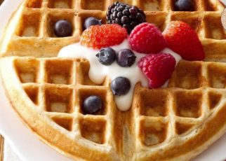 yt 70781 MUFFIN MIX WAFFLES. EASY RECIPE for 1 min 322x230 - MUFFIN MIX WAFFLES. EASY RECIPE for 1 min