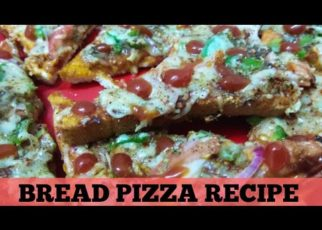 yt 71592 Bread Pizza Recipepizza recipe without oven microwaveEasy Instant bread pizza recipe on tawa 322x230 - Bread Pizza Recipe।pizza recipe without oven, microwave।Easy & Instant bread pizza recipe on tawa