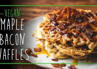 yt 73088 Maple Bacon Waffles Your Moms Favorite Channel 322x230 - Maple Bacon Waffles  -  Your Mom's Favorite Channel