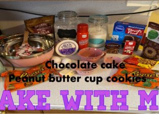 yt 73105 How to bake the best dessertschocolate cake peanut butter cup cookies DELICIOUS 322x230 - How to bake the best desserts//chocolate cake// peanut butter cup cookies// DELICIOUS