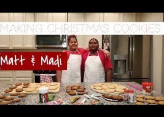 yt 73507 DIY Making Christmas CookiesBaking Cookies with the FamilyMatt Madi 322x230 - DIY Making Christmas Cookies Baking Cookies with the Family Matt & Madi