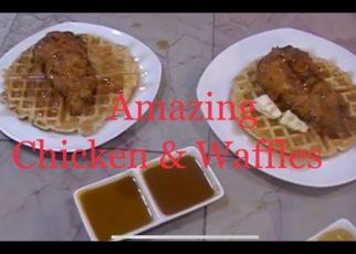 yt 74625 Amazing Chicken Waffles RecipeFrankie Meatball 322x230 - Amazing Chicken & Waffles Recipe/Frankie Meatball