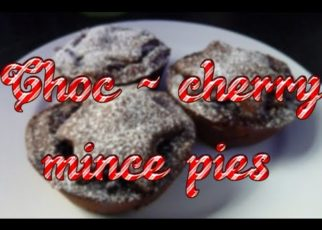 yt 74631 ASMR Baking Chocolate Cherry mince pies  322x230 - ASMR Baking -🍩 Chocolate Cherry mince pies 🎄