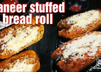 yt 75024 Bread roll recipe paneer stuffed bread roll paneer roll recipe Healthy dinner atta breadroll 322x230 - Bread roll recipe / paneer stuffed bread roll / paneer roll recipe / Healthy dinner / atta breadroll