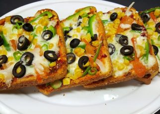 yt 75415 How to Make Instant Bread Pizza On Pan Bread Pizza Recipe 322x230 - How to Make Instant Bread Pizza On Pan   Bread Pizza Recipe